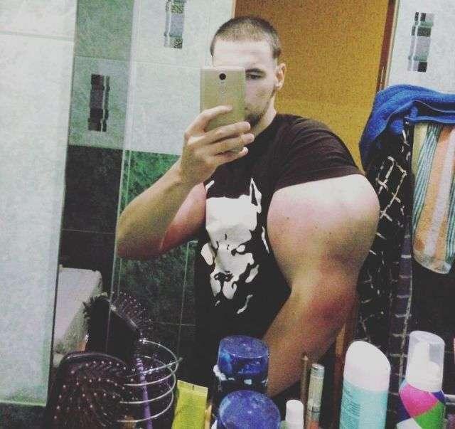 Синтоловый фрік Кирило Терешин з Пятигорська (8 фото + відео)