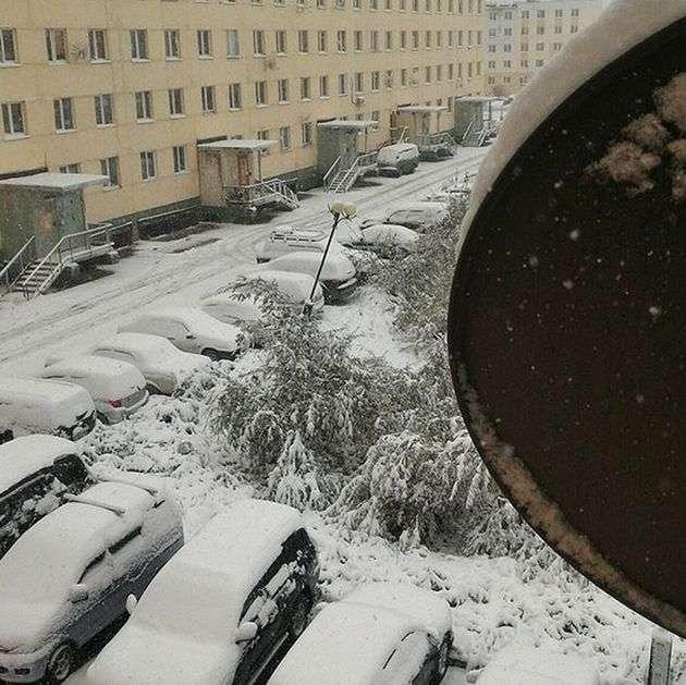 В Якутії випав перший серпневий сніг (16 фото)