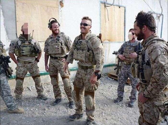 Військовослужбовці американського спецназу (48 фото)