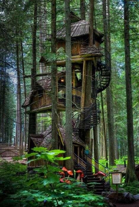 Дивні і незвичайні будинки (26 фото)