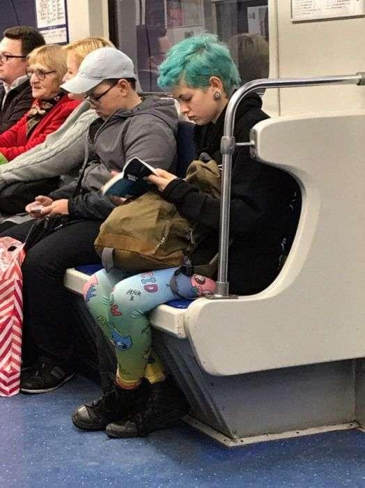 Модники російського метро (30 фото)