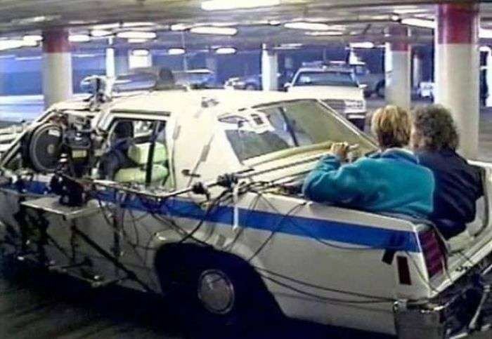 Кадри зі знімального майданчика фільму Термінатор 2: Судний день (39 фото)