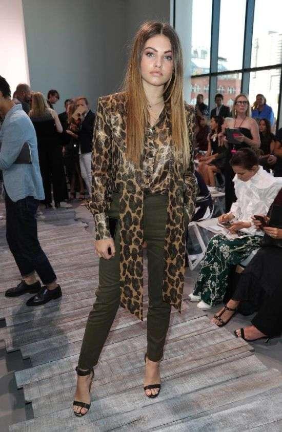 Тілан Блондо (найкрасивіша дівчинка в світі) на Тижні моди в Нью-Йорку (3 фото)