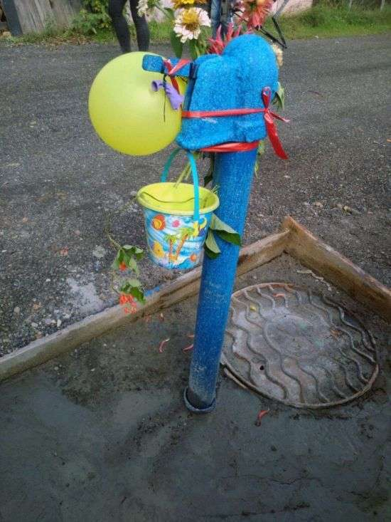 У Томську урочисто відкрили водопровід (4 фото)