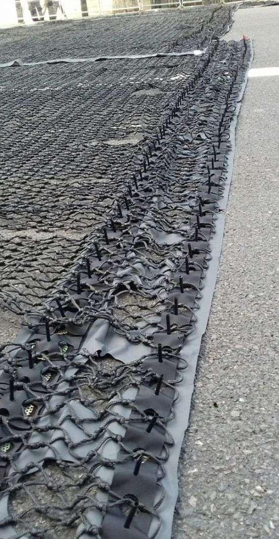 Вольфрамові шипи зупинять машини терористів (2 фото)