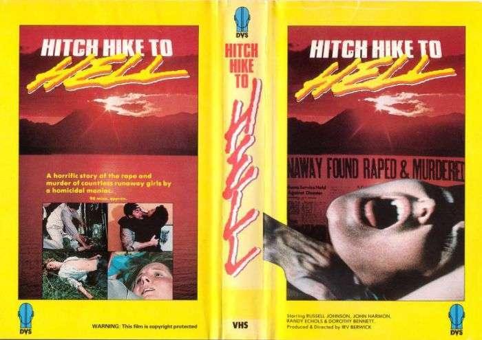 Моторошні обкладинки старих відеокасет хорроров (30 фото)