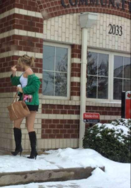 «Стежка ганьби» або ганебне повернення дівчат з вечірок (29 фото)
