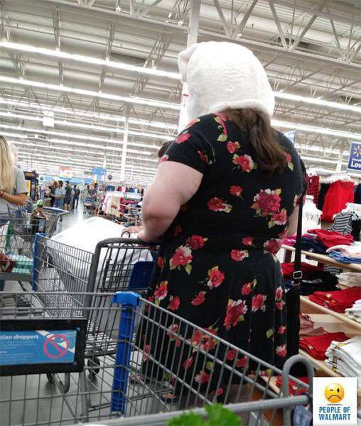 Фріки і дивні відвідувачі американських супермаркетів (34 фото)