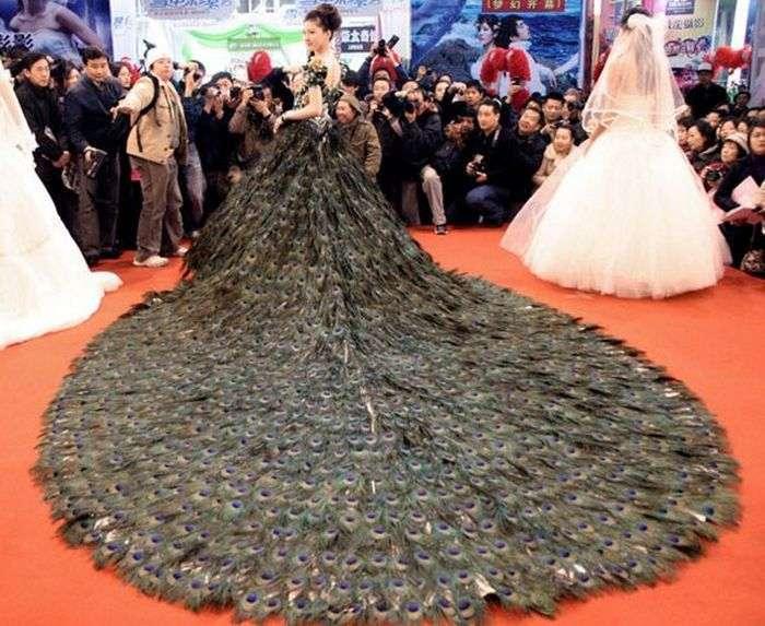 Дивні і незвичайні весільні сукні (22 фото)