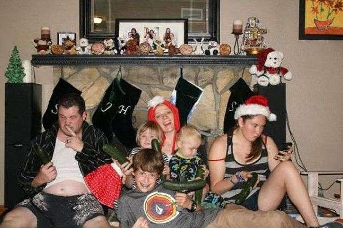 Дивні сімейні фото (22 фото)