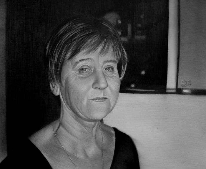 Чудові портрети, написані безруким художником Маріушем Кеджерски (11 фото)