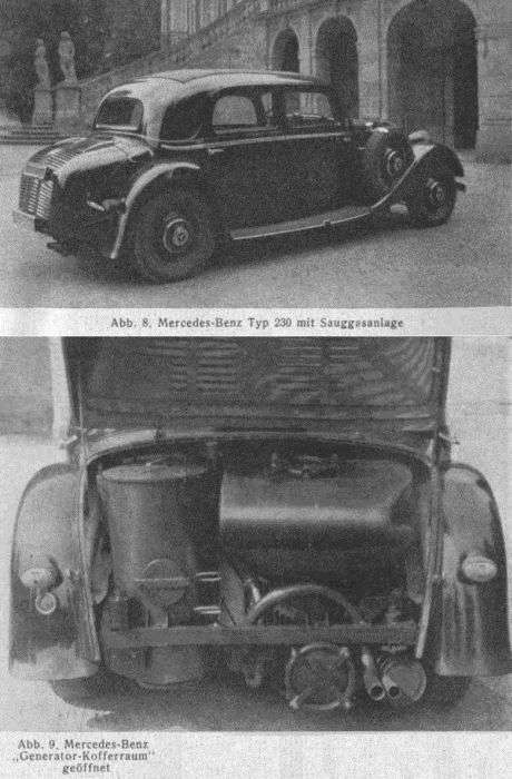 Автомобілі, які їздять на дровах (21 фото)
