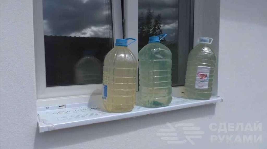 Как установить ПВХ отливы на окна своими руками Самоделки
