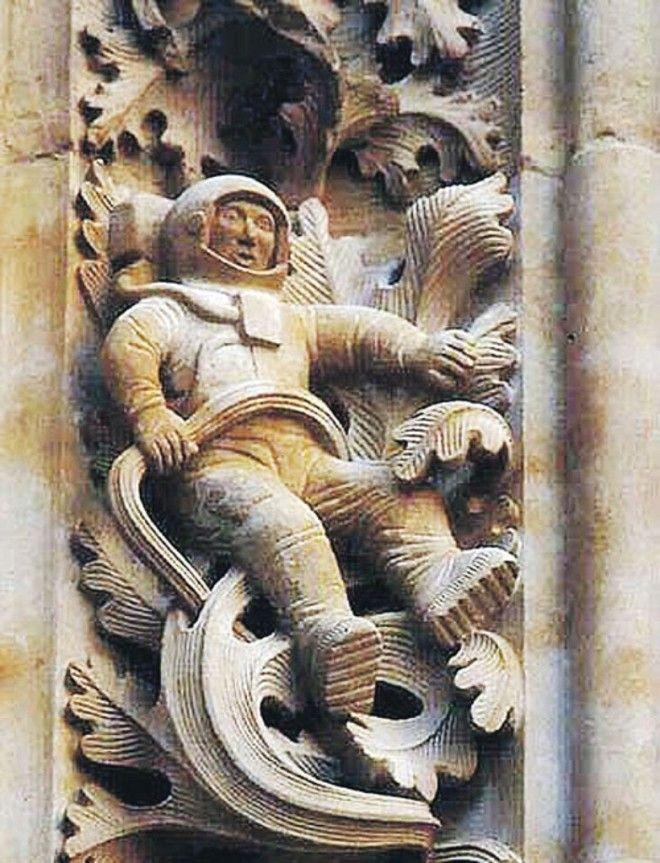 Загадка средневекового астронавта