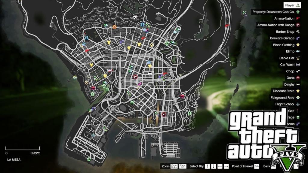 Игра GTA V. Как открыть всю карту в «ГТА 5» Игры