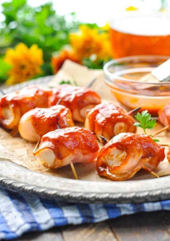 Куриная грудка с беконом в духовке: вкусные рецепты Кулинария