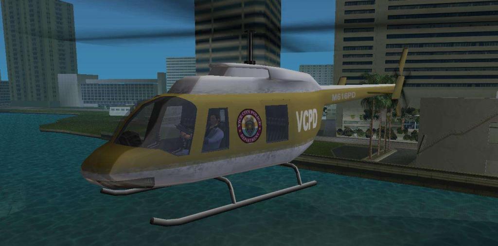 Игра GTA: Vice City. Код на «Вайс Сити» на вертолет Игры