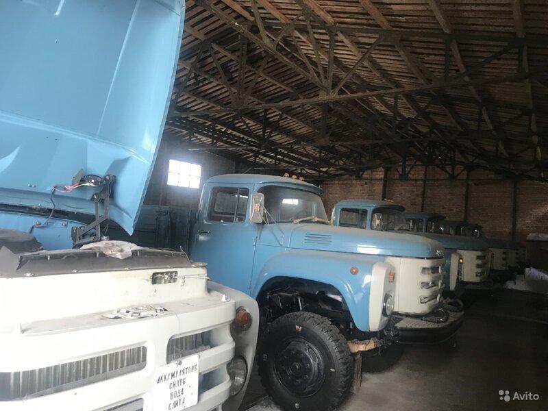 На продажу выставили «новые» грузовики ЗИЛ-133ГЯ, выпущенные в 1994 году История,ссср