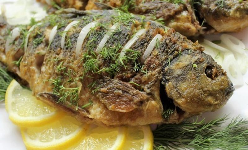 Рецепт карасей в сметане Кулинария,Духовка,Закуски,Идеи,Лайфхаки,Продукты,Рыба