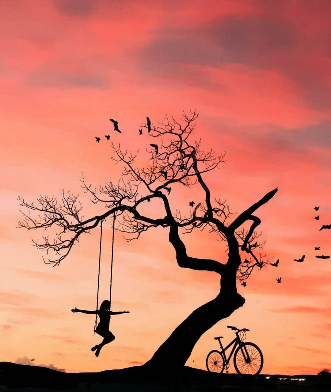 Сюрреалистические и сказочные фотоколлажи Абдуллы Эвиндара Искусство