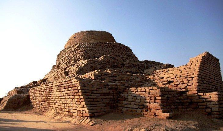 От какого ядерного оружия мог погибнуть древнеиндийский город? путешествия,Путешествие и отдых