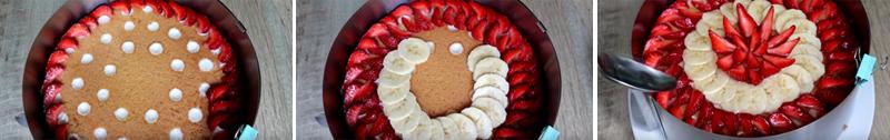Рецепт торта с клубникой и банановым кремом Кулинария,Бисквит,Выпечка,Десерты,Духовка,Продукты,Сладости,Торты,Яйца