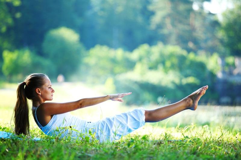 Варианты выполнения упражнения «Сотня» для новичков Здоровье,Советы,Пилатес,Позвоночник,Спина,Упражнения