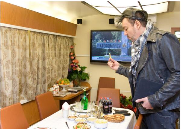 Как выглядит личный вагон Киркорова, в котором он гастролирует по стране Интересное