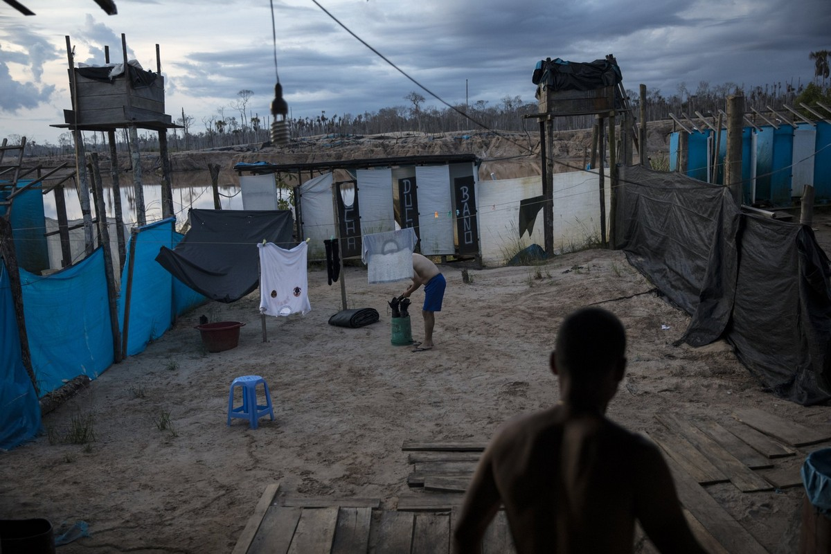 Военные Перу пытаются пресечь незаконную добычу золота на Амазонке МиР