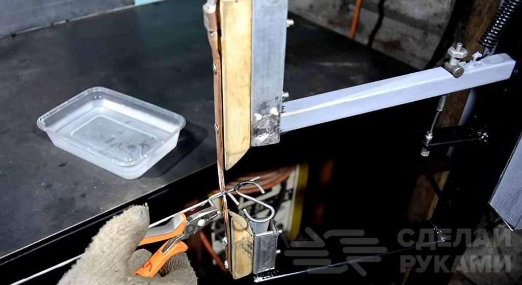 Бюджетная точечная сварка из трансформатора от микроволновки Самоделки