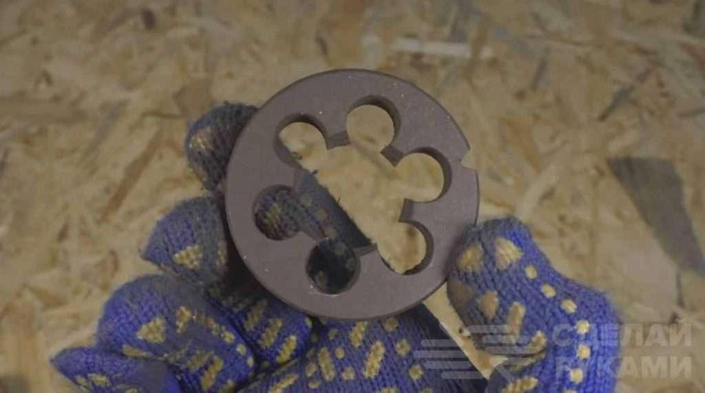 Как из старой ржавой плашки сделать гвоздодер Самоделки