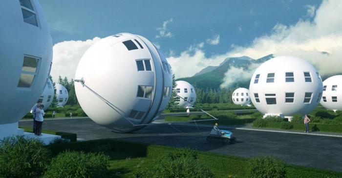 Наши дома глазами наших предшественников: как люди представляли жилища XXI века Интересное