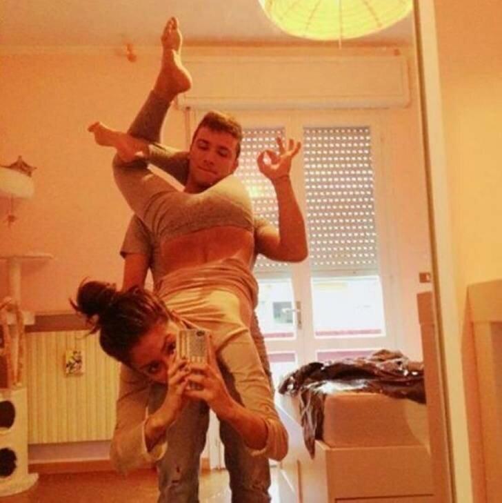 15 чудиков, которые сделали совершенно «безмозглые» селфи   Интересное
