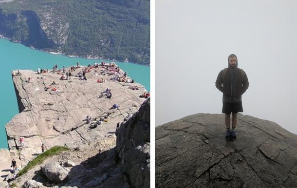 20 худших фото из отпусков, в которых что-то пошло не так Интересное