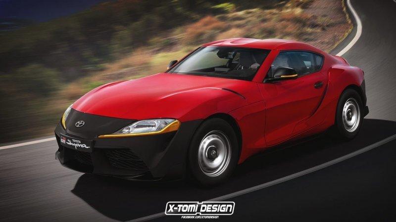 На штамповках и без крыши: какой может быть новая Supra авто