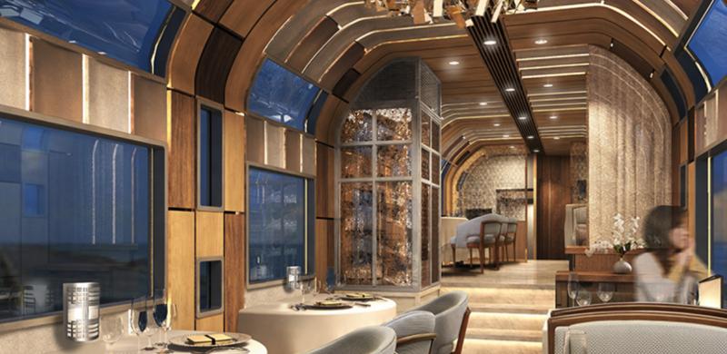 Двухэтажный поезд с панорамными стеклами Интересное