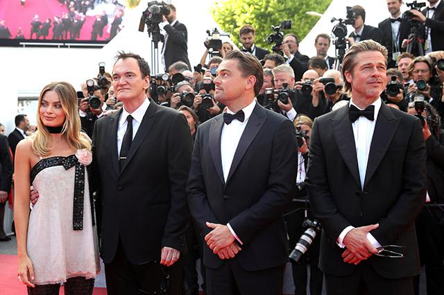 Канны-2019: Марго Робби, Леонардо ДиКаприо, Брэд Питт и другие звезды на премьере