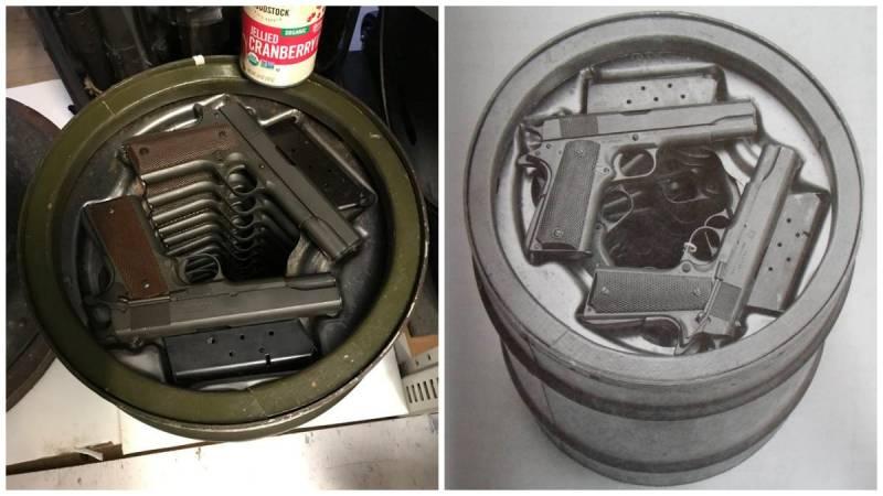 Пулемёт в консервной банке. Контейнеры длительного хранения от Спрингфилдского арсенала оружие
