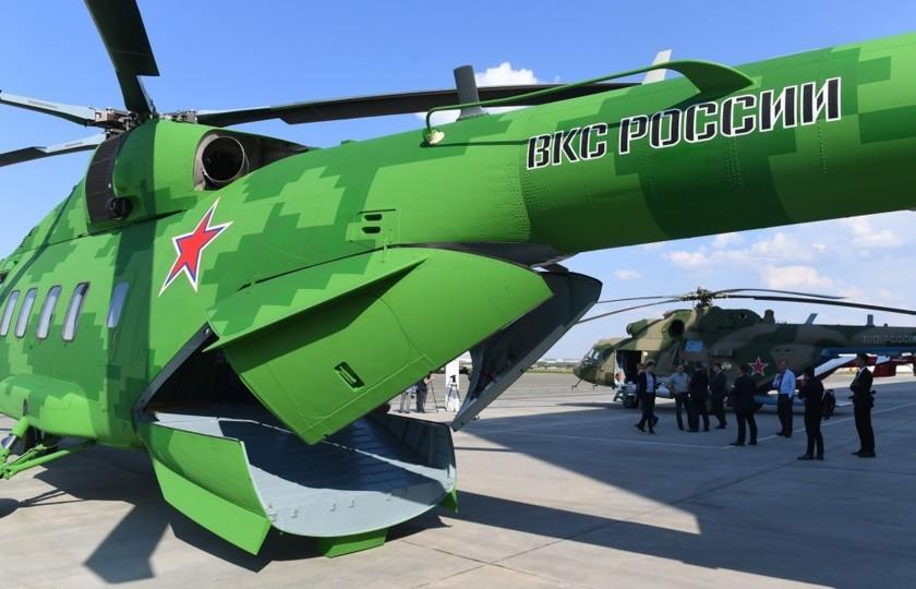 Новый российский вертолет притворился «китайцем» гаджеты,комуфляж,путин,россия,технологии
