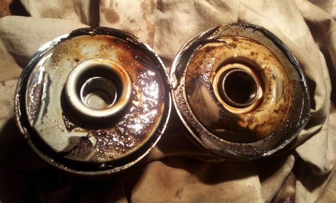 Заливание масла в фильтр: ошибка опытных водителей автомобиль,двигатель,масло,Пространство,фильтр