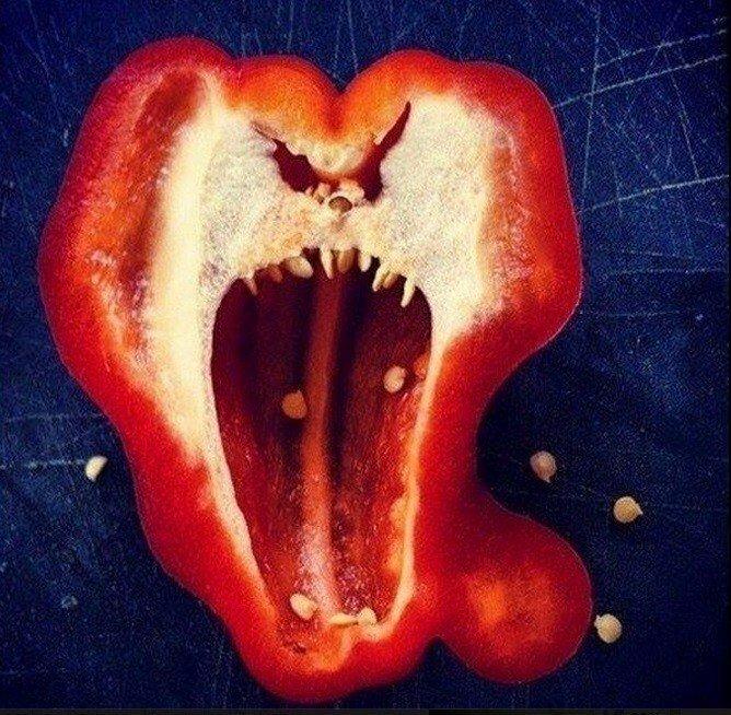 15 доказательств того, что перец - самый эмоциональный овощ из всех существующих! юмор