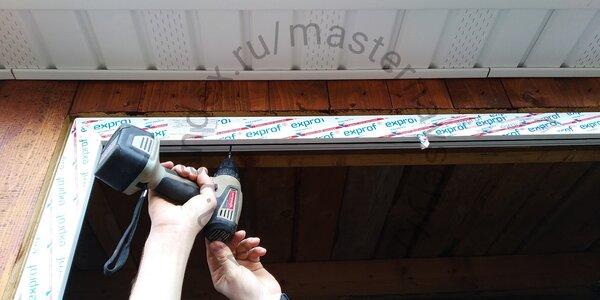 Как установить пластиковое окно на веранде своими руками сделай сам,советы