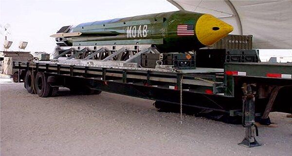 Вакуумные бомбы России и США новости,события