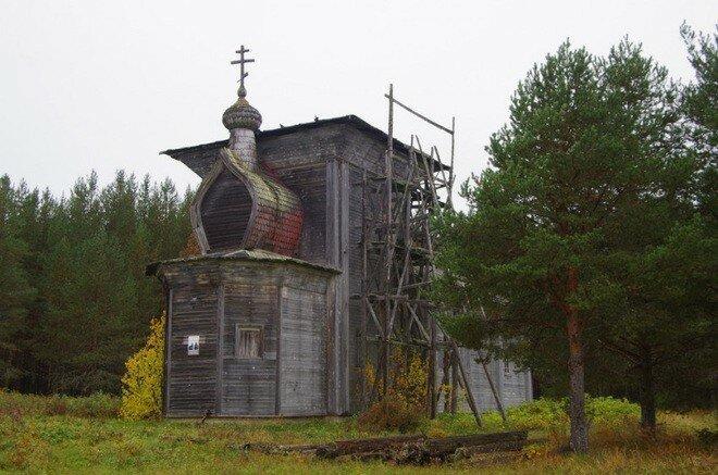 Уникальные деревянные храмы Севера, которые ещё можно увидеть воочию