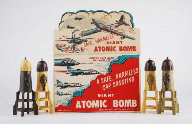 Странные атомные игрушки 1950-х годов в США