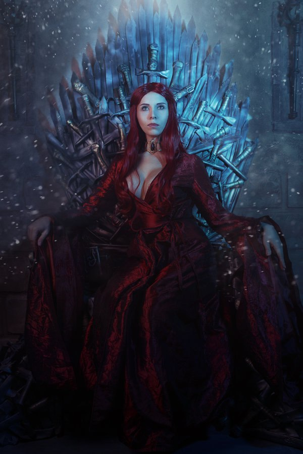 Елена Самко о косплее и косплей на Мелисандру из Game of Thrones Игры,косплей