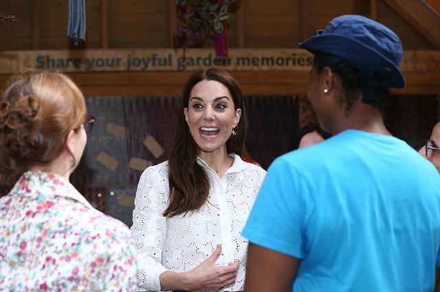 Кейт Миддлтон посетила Chelsea Flower Show Монархии
