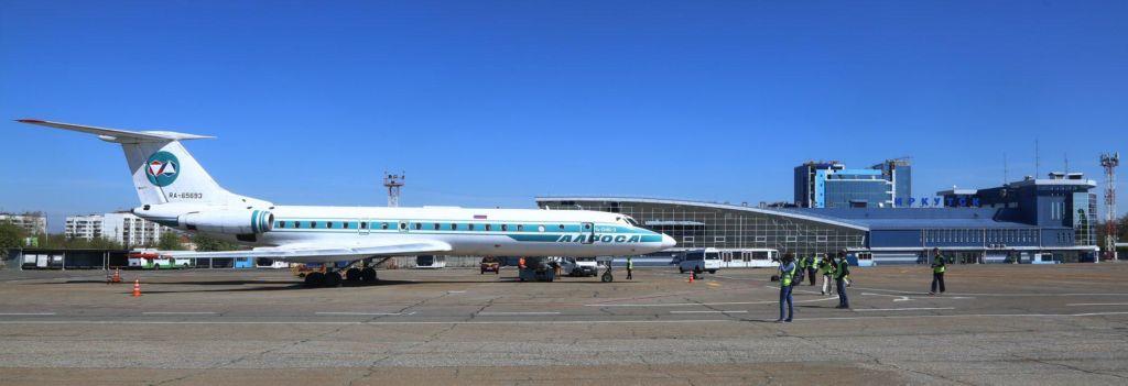 Ту-134 вылетел в свой последний рейс из Иркутска. 22 мая состоится его последний полет в России Авиация
